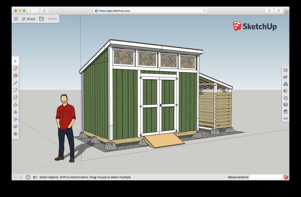 Sketchup spojuje jednoduch skicovan tu kou s v hodami for Architecte 3d vs sketchup