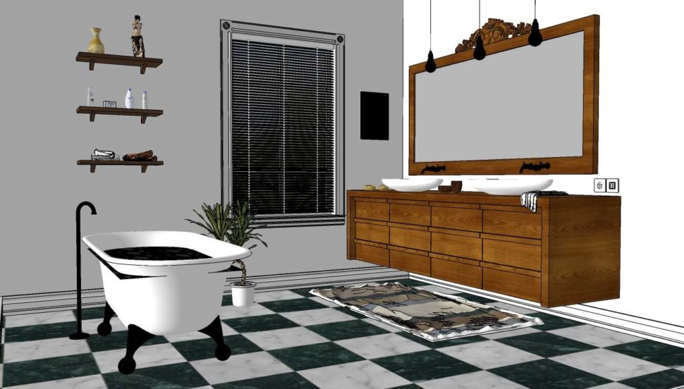 Floor Generator, plugin pro obklady adlažby