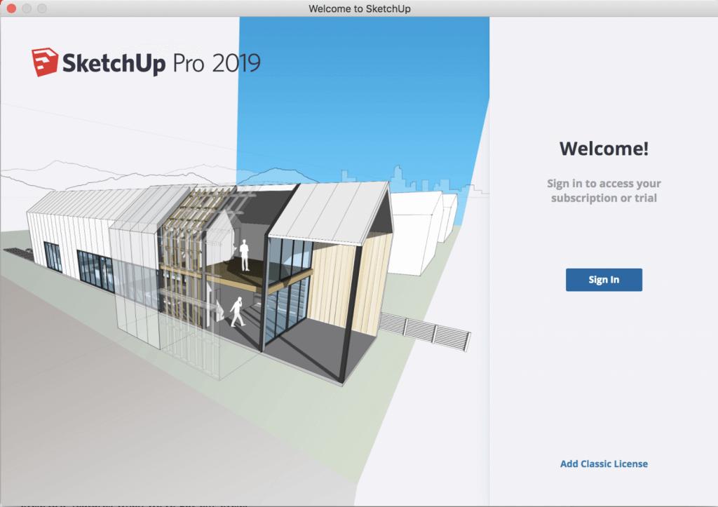 SketchUp Pro - pronájem 1 rok