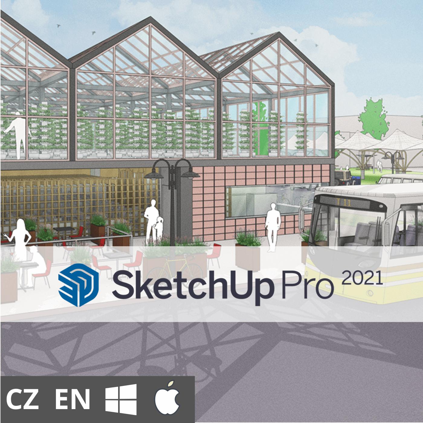 Předplatné: SketchUp Pro – 3 roky