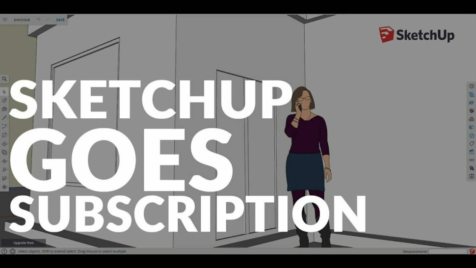 Výhody pro přihlášení kodběru předplatného SketchUp