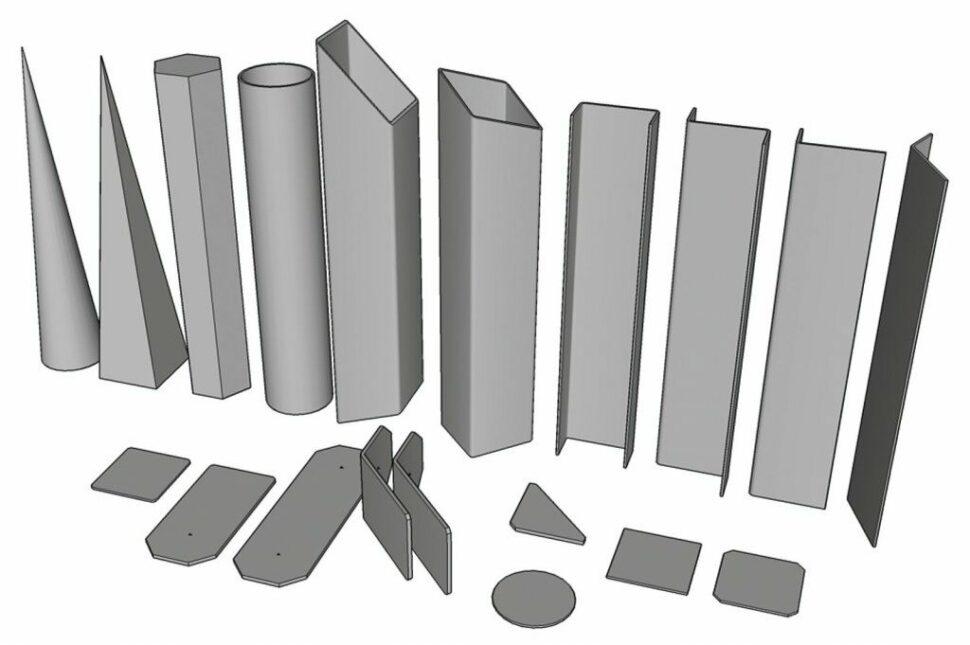 Parametrické tvary