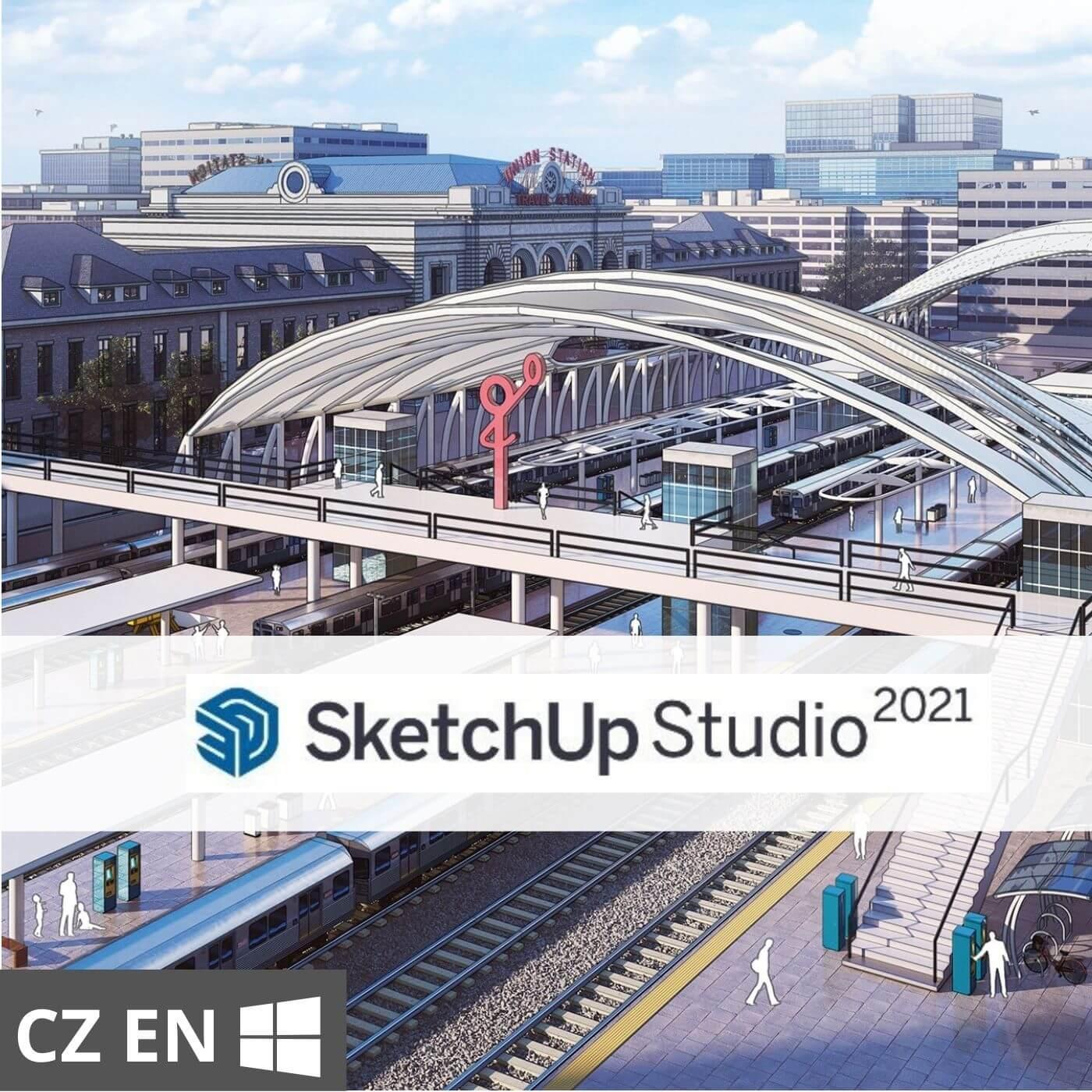 Předplatné: SketchUp Studio